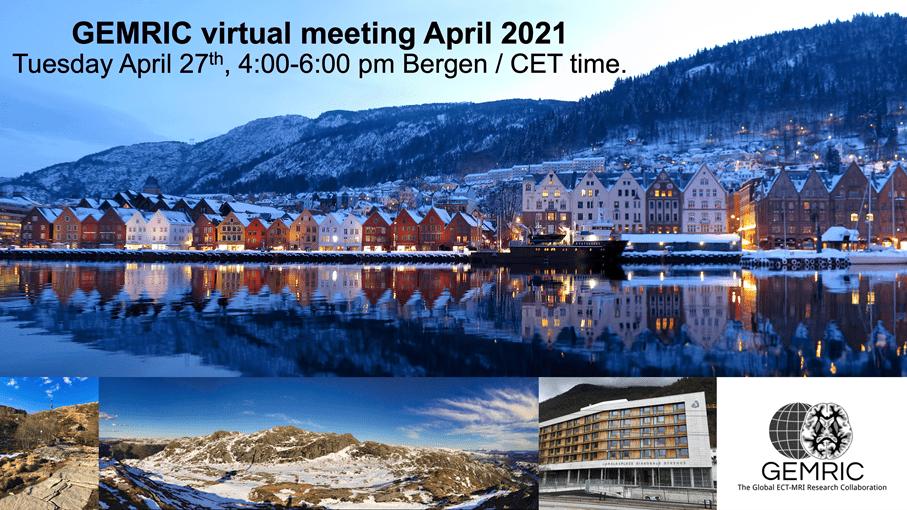 GEMRIC virtual meeting April 2021